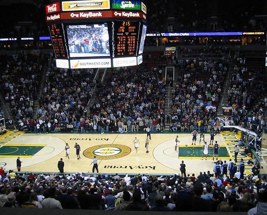 Seattle Sonics Key Areana - Bing Arena