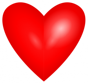bright-red-heart