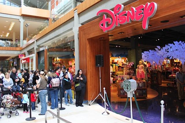 A look inside the new bellevue square interactive disney for Michaels craft store erie pa