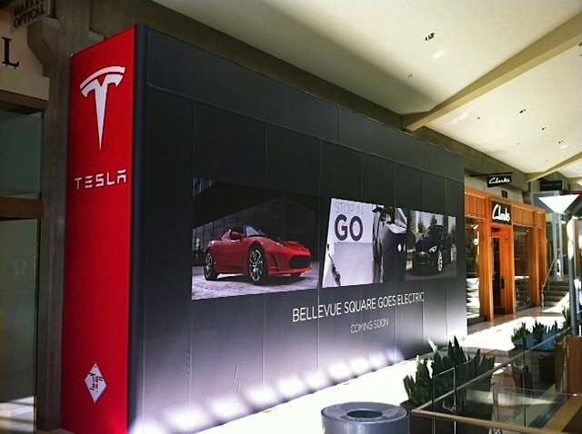 Electric Car Company Tesla Opening Store In Bellevue