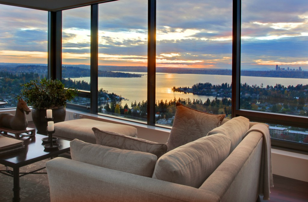 4848 M Lincoln Tower 48th Floor Condo For Sale Downtown Bellevue Adorable 2 Bedroom Apartments Bellevue Wa