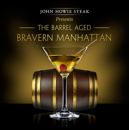 John Howie Steak The Barrel Aged Bravern Manhattan