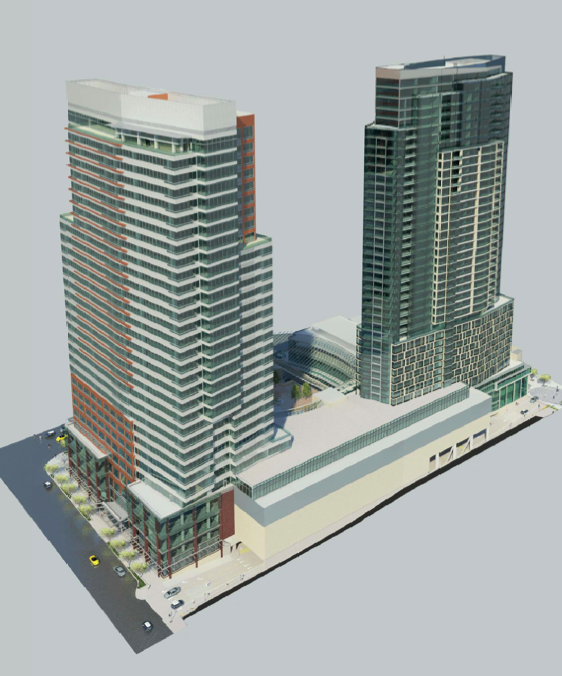 Lincoln Square Expansion Rendering