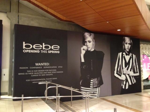 Bebe Opening Bellevue Square