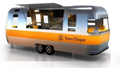 Airstream Veuve Clicquot Bellevue Bravern