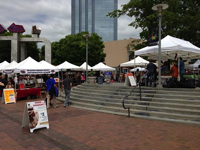 Bellevue Farmers Market 2013