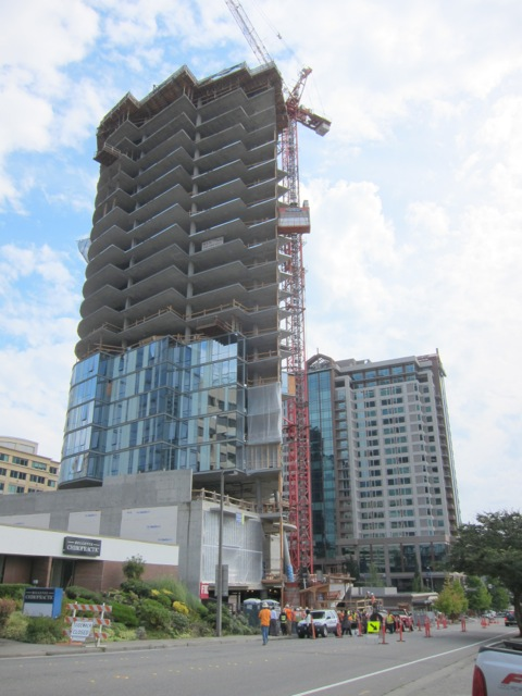 Soma Towers In Downtown Bellevue Nears Completion