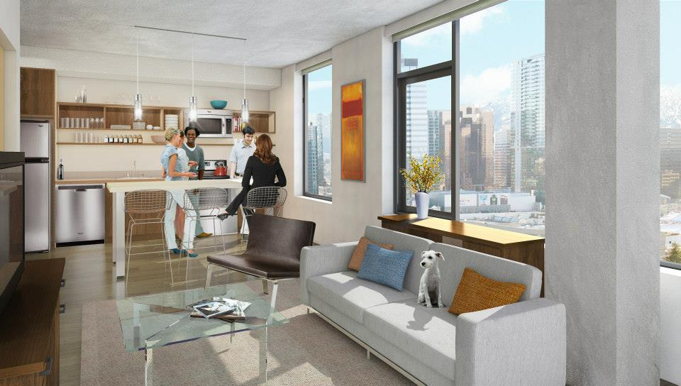 Alley 111 Apartment Rendering Bellevue