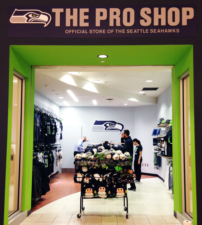 Seahawks Pro Shop Bellevue Square