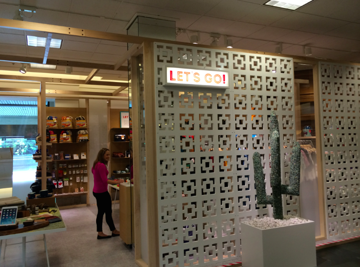 Nordstrom Pop In Shop Features Travel Inspired Theme Plus
