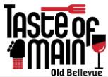 Celebrate 2014 Taste of Main in Old Bellevue - Saturday, August 16th