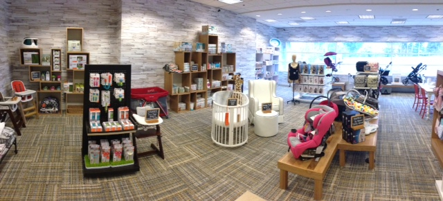Nordstrom Bellevue Square Kids Section Panorama