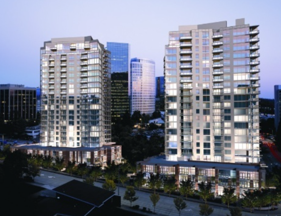 Washington Square Condos in Downtown Bellevue