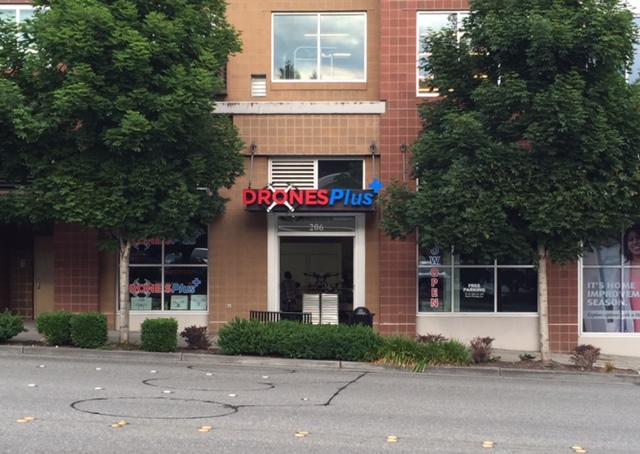 Drones Plus Lands in Bellevue