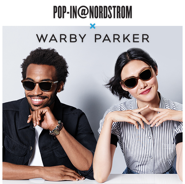 Warby Parker Pop-In Shop at Nordstrom Bellevue Square