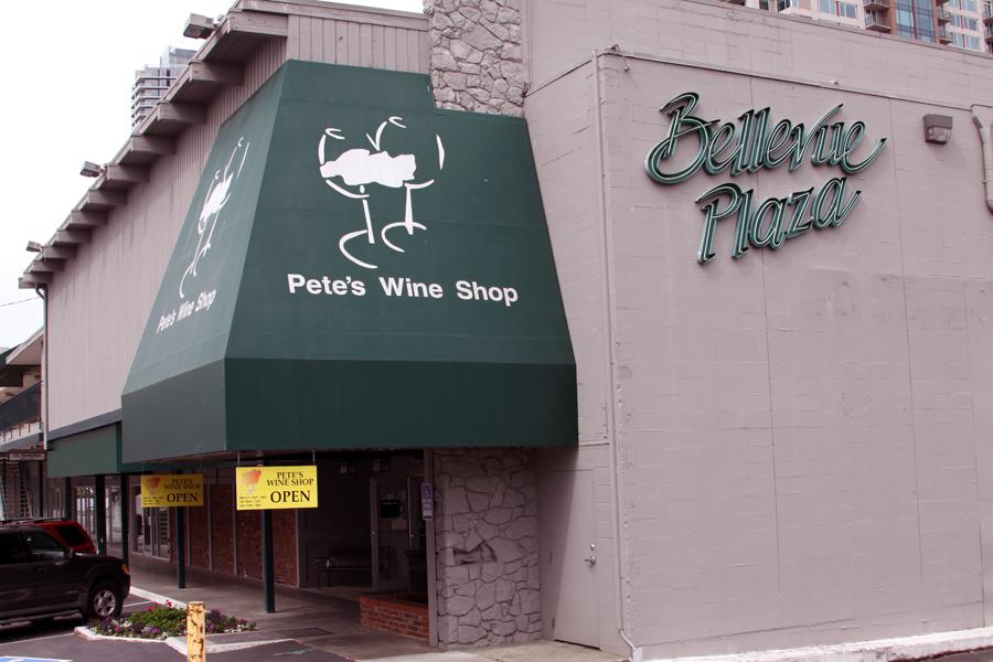 Pete's Wine Shop Closing in Downtown Bellevue
