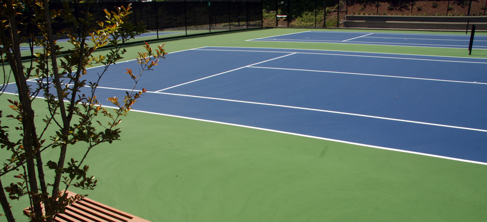 Tennis Courts Bellevue Club