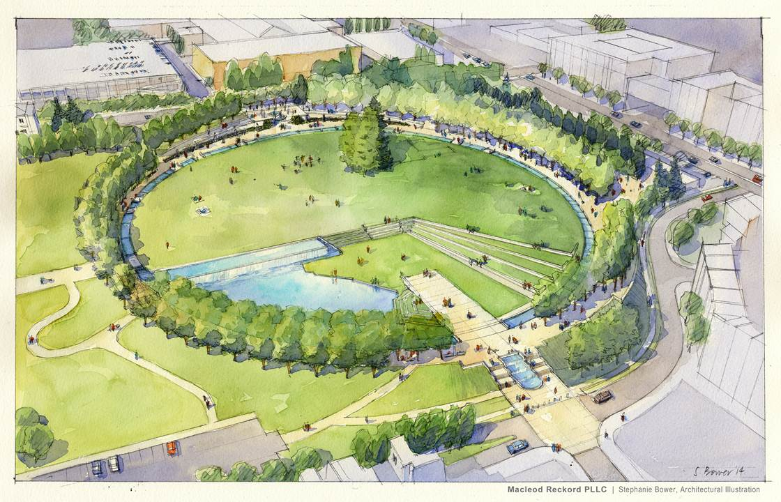 City of Bellevue Confirms Downtown Park Projects to Begin in July