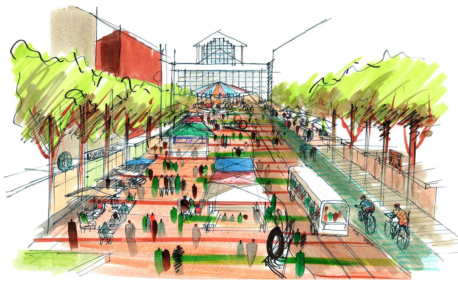 Downtown Bellevue S Architecture Plans Come Into Focus