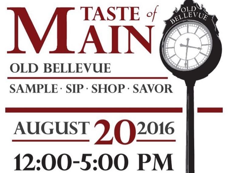 2016 Taste of Main Set for August 20th
