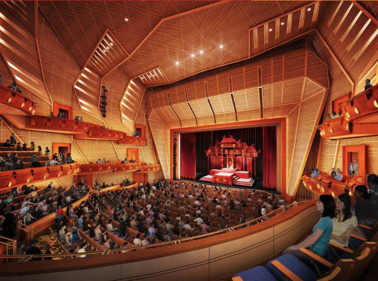 Performing Arts Center Eastside at Tateuchi Center Gets Rebranded