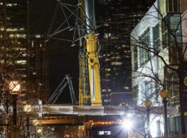 Bellevue Westin to Lincoln Square Expansion Skybridge Construction has Begun