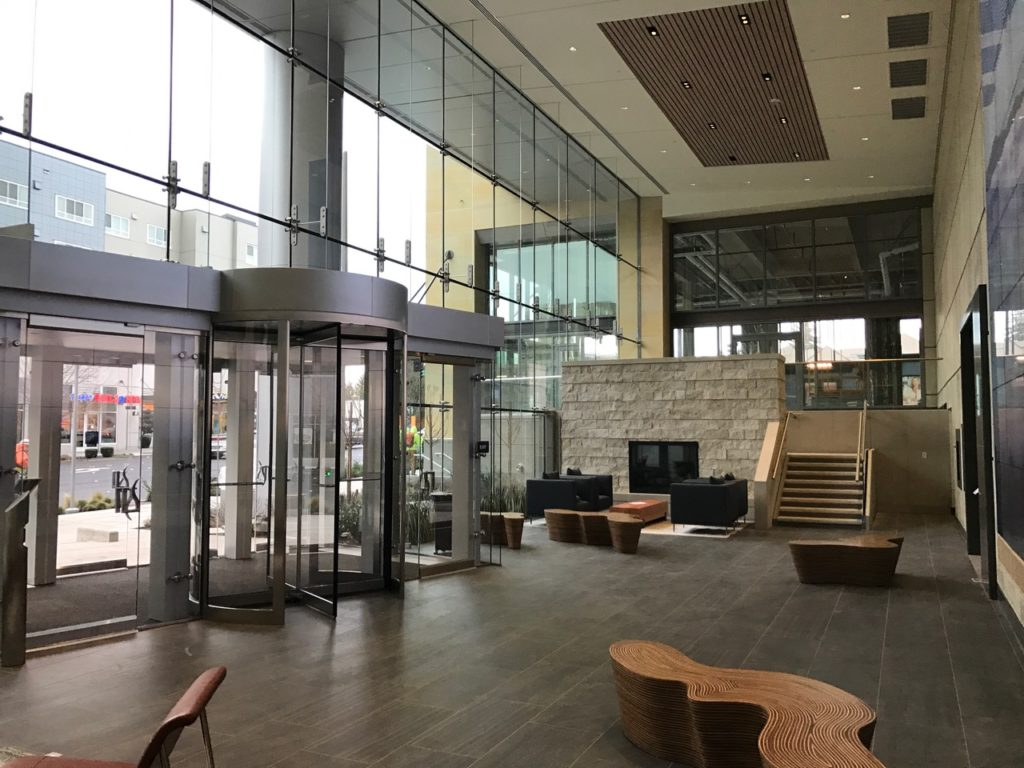 Sneak Peek Lincoln Square Expansion Office Tower Lobby