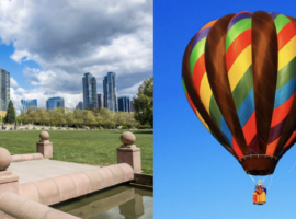 Hot Air Balloon Rides: New Addition to Bellevue Downtown Park in Summer 2017
