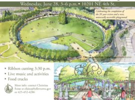 Bellevue Downtown Park Grand Opening: June 28