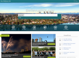 City of Bellevue Launches New Refreshed Website