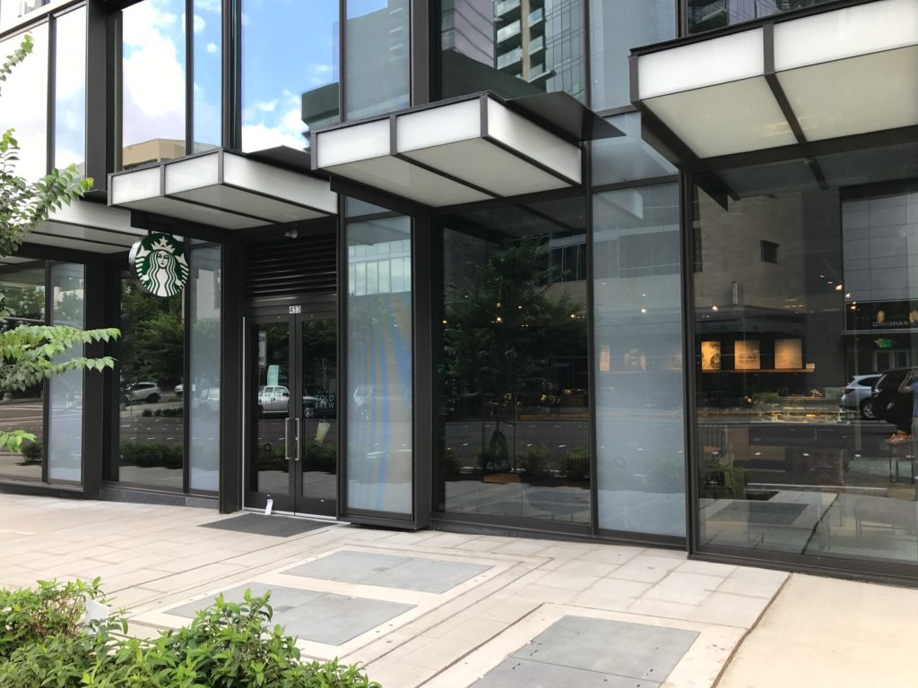 Now Open New Starbucks Opens At Centre 425 On 106th In Downtown Bellevue Downtown Bellevue