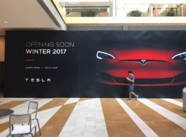 Tesla Moving to Larger Location Within Bellevue Square