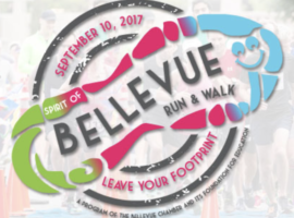 2017 Sprit of Bellevue 5K Run & Walk Benefits College Scholarships & Student Entrepreneurship
