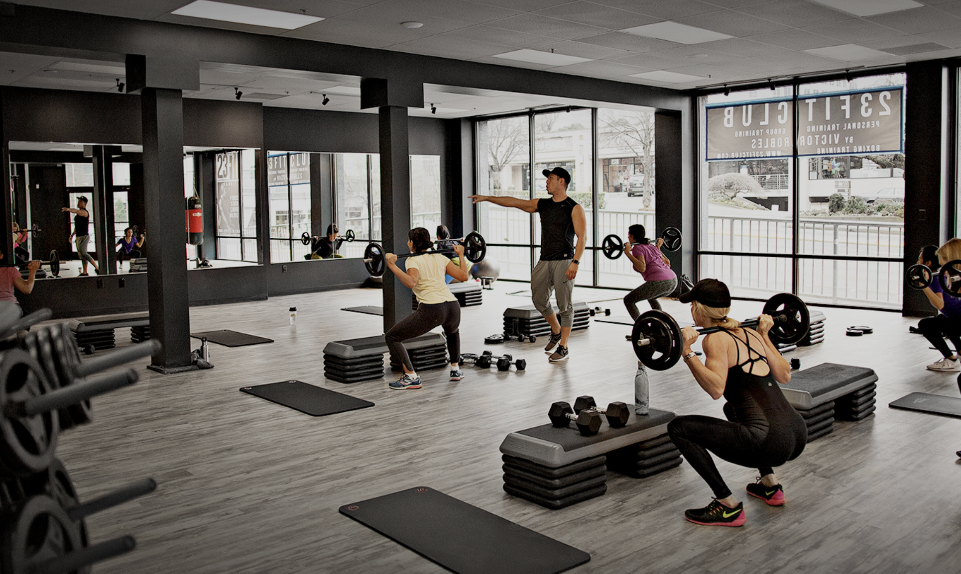 23fitclub offers boutique fitness club in downtown for Fitness gym