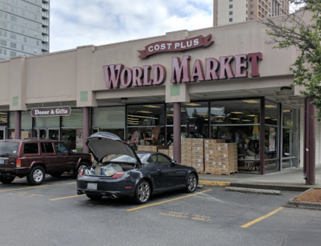 Cost plus world market to close in downtown bellevue downtown photo credit google maps gumiabroncs Gallery