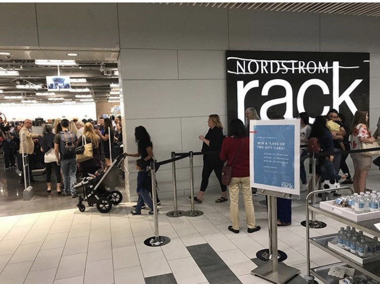 93e8f6226 Photo Credit: Two Lincoln Square Tower Instagram. Nordstrom Rack opened ...