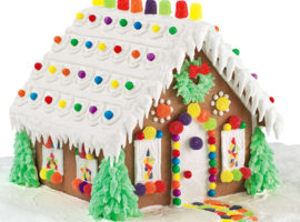 Annual Bellevue Gingerbread House Workshops Available for Registration