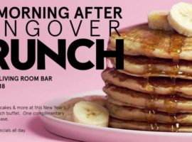 "W Bellevue Hotel to Offer ""Morning After Hangover Brunch"" on New Year's Day"