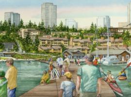 Meydenbauer Bay Park Construction Makes Big Strides
