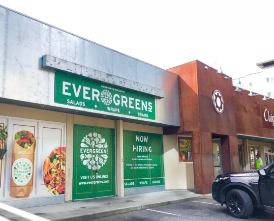 Evergreens to Open Second Location in Bellevue, Jamba Juice Closes