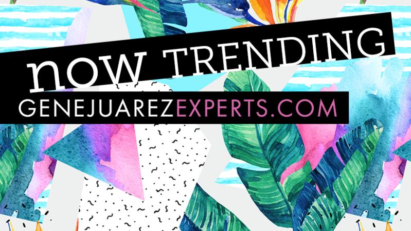 Get Perfect Brows at Gene Juarez Salon & Spa