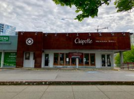 Chipotle in Downtown Bellevue Closed for Remodeling