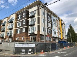 Bellevue Vuecrest Apartments Under Construction, Slated to Open in Summer