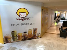 Chinese Takeaway Tea Brand, Happylemon, to Open at Bellevue Square