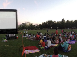 2018 Bellevue Downtown Movies in the Park Begin July 10th