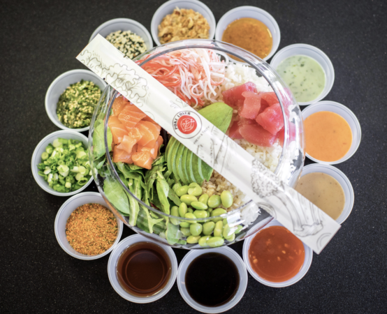 "Poke Craze Continues in Downtown Bellevue as ""Poke Lover"" Opens"