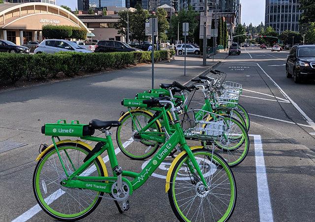 Photo Credit: Bellevue Bike Share Program