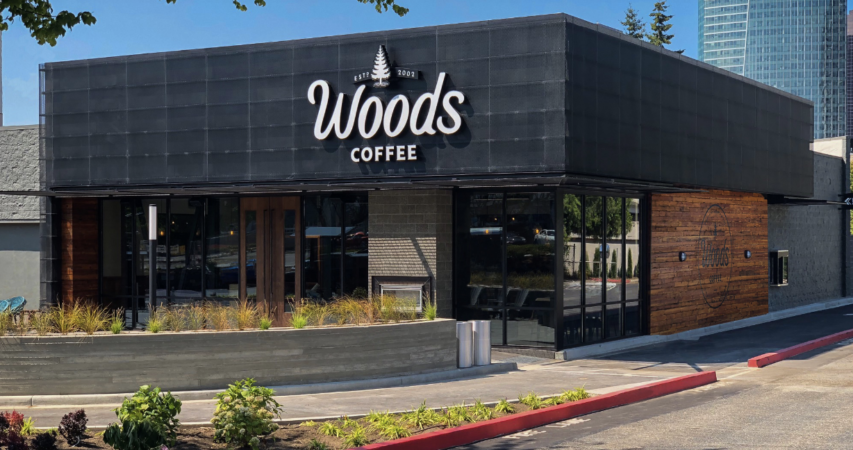 Woods Coffee Opens Third Coffee Shop in Downtown Bellevue