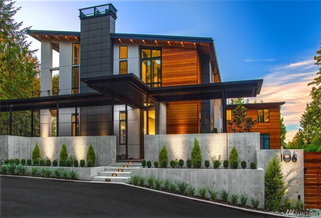 Home Of The Month: New Modern Luxury Home Features 9,000 Sq Ft, Eight  Bedrooms, And Six Car Garage