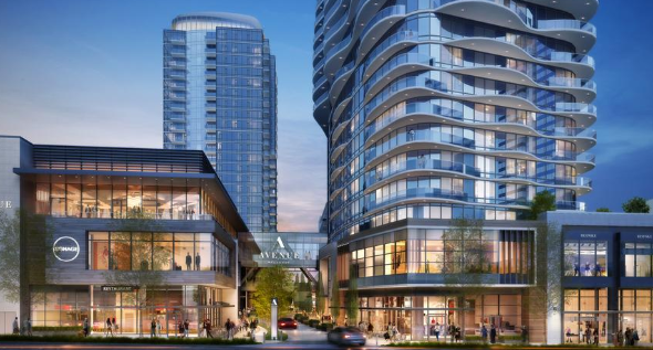 Avenue Bellevue, Mixed-Use Project, Announces InterContinental Hotel